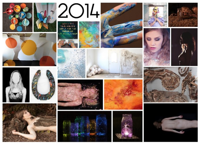 Jenna Citrus Art year in review 2014