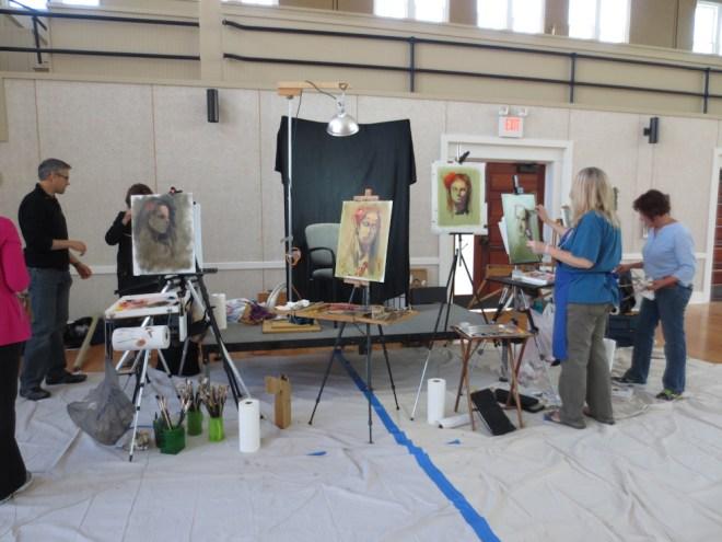 Jenna Citrus Model Daniel Gerhartz Art Portarit Painting Class New Harmoney IndianaIMG_9268