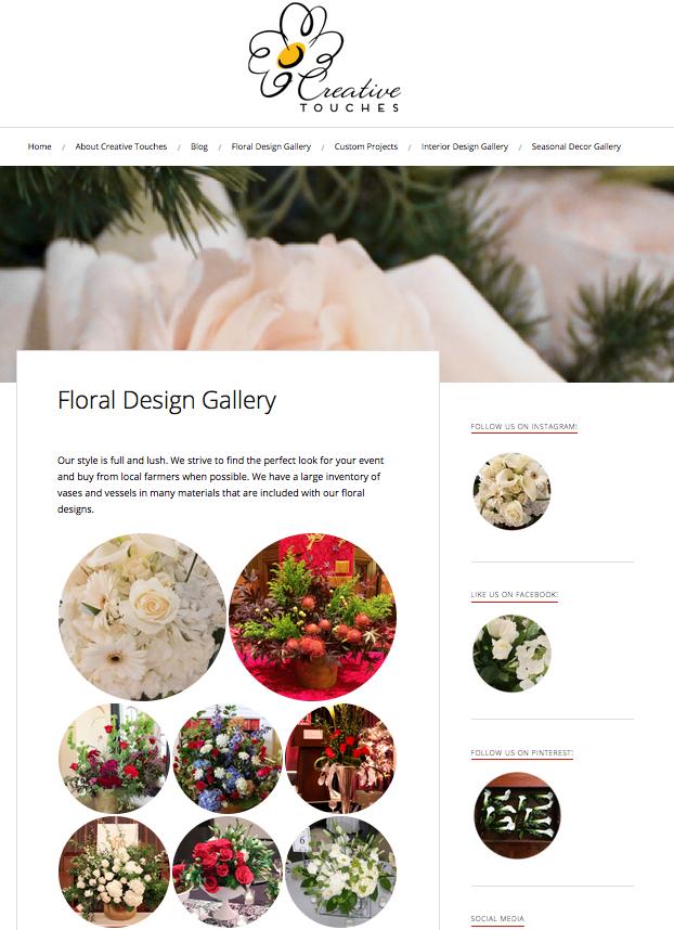 creative touches evansville jenna citrus web design