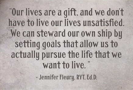 our lives are a gift
