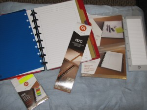 Arc notebook and accessories
