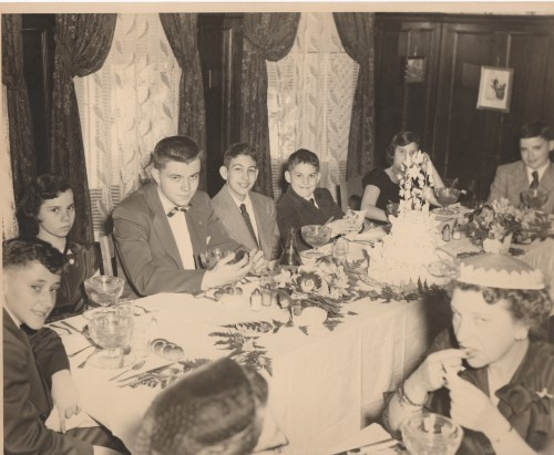 Bar mitzvah kids 1953