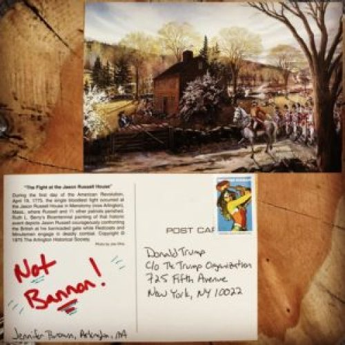 Postcard Avalanche: Stop Bannon