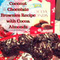 Coconut Chocolate Brownies with Cocoa Almonds Reicpes