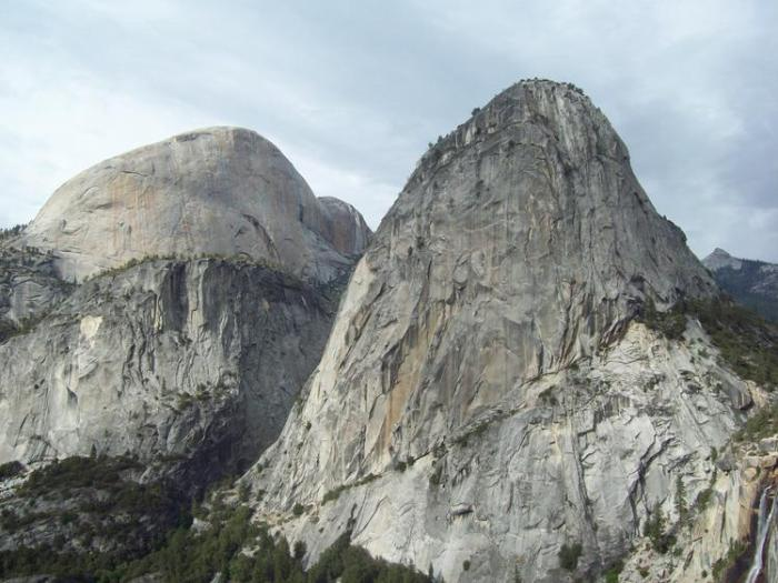 Mountains in Half Dome, California Five 'Must Climb' Rock Faces in North America