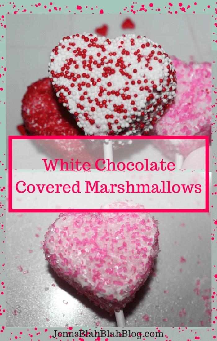 Valentine's Day Recipe Fun Kids Valentine's Day Recipe: White Chocolate Covered Marshmallows