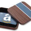 amazon gift card in box