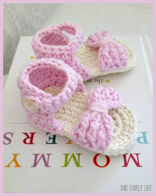 25free crochet baby sandals and barefoot patterns summertime dt1010fo