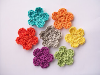 Amigurumi Flowers Free Patterns : Free easy crochet flowers patterns