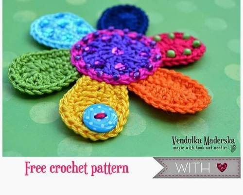 Free Crochet Patterns Flowers Easy : 25+ free easy crochet flowers patterns