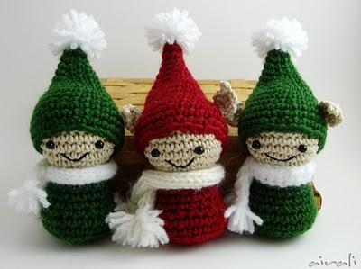 Amigurumi Christmas : Free crochet christmas ornament patterns