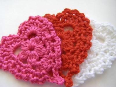 25+ free & easy crochet heart patterns