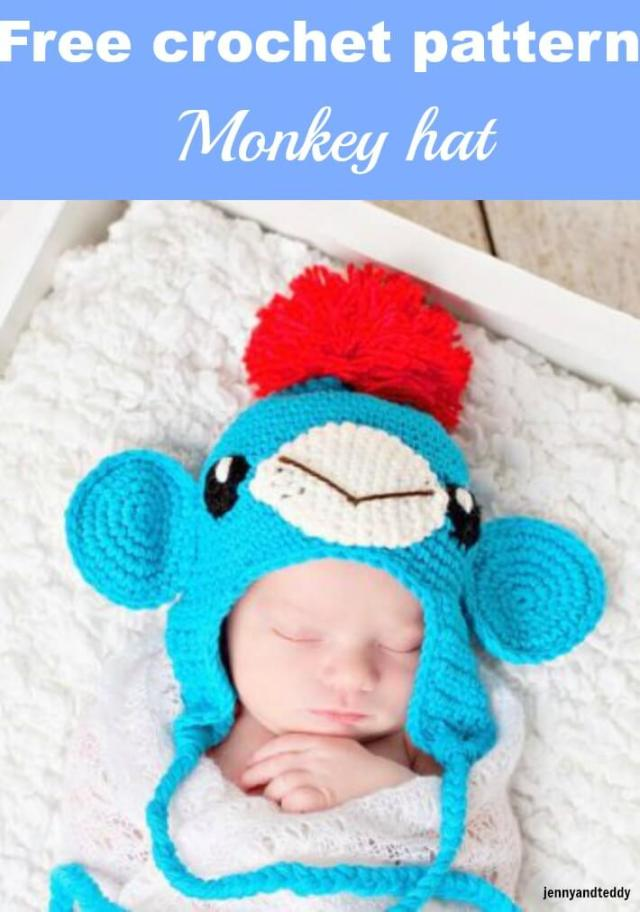 Free Crochet Patterns Monkey Hat : Not another sock monkey crochet hat-free pattern