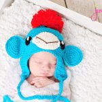 sock monkey crochet hat free pattern