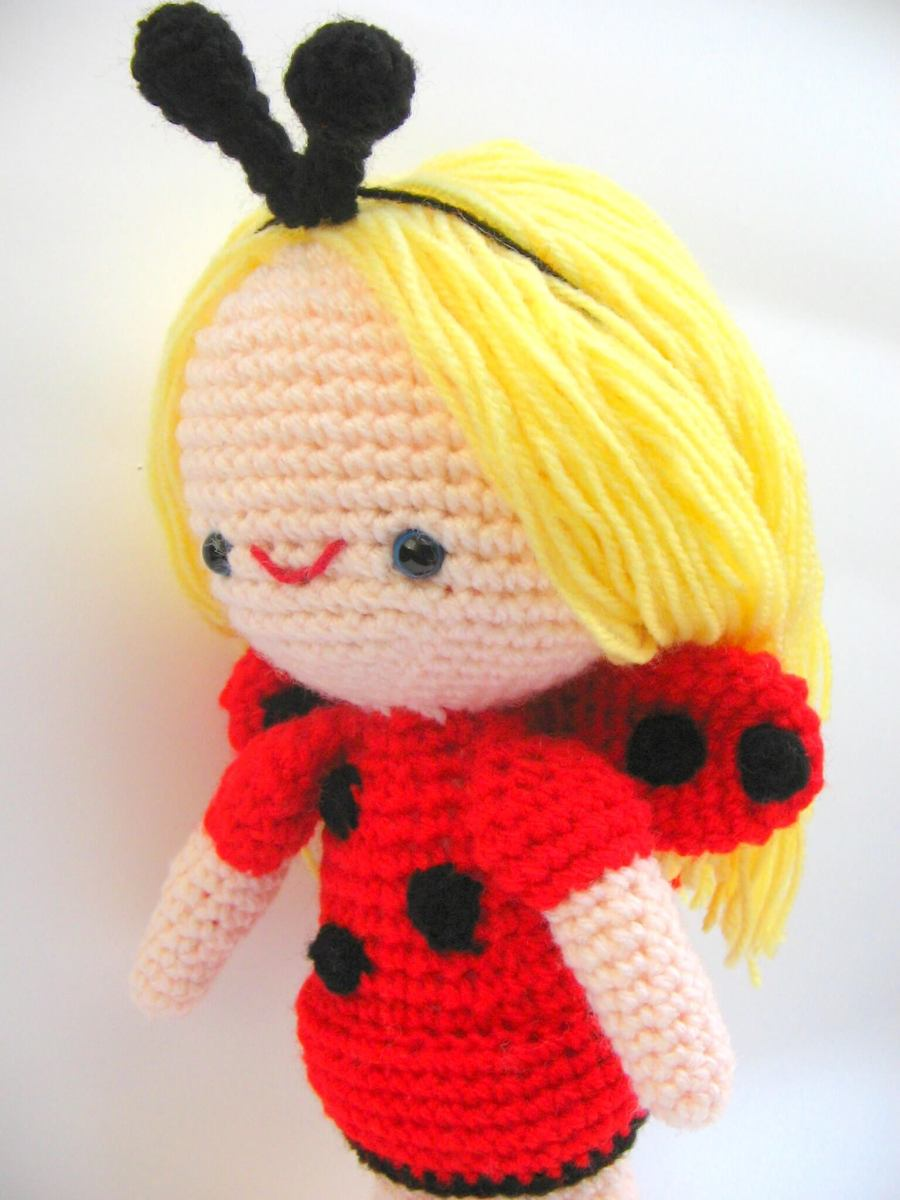Ladybug Sofia amigurumi-free pattern