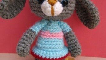 Amigurumi Bunny Free : Bunny love amigurumi free pattern