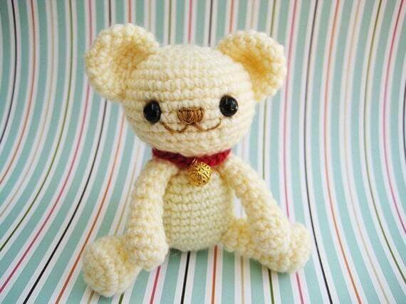 Amigurumi Teddy Bear Free Patterns : Milo teddy bear u2013 free amigurumi pattern