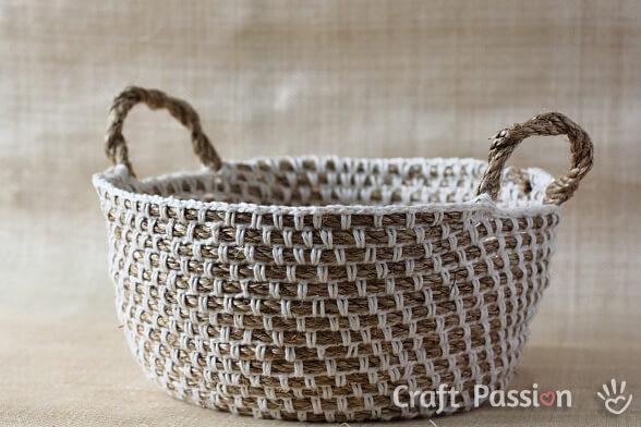 23 Free Easy Crochet Baskets Patterns