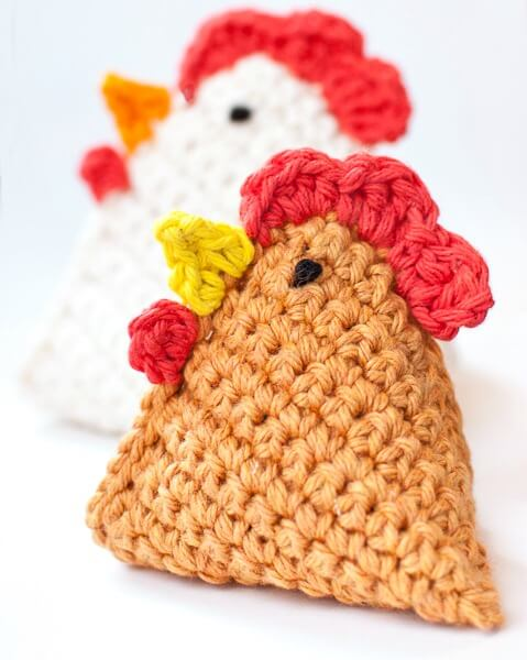 Free Crochet Patterns For Easter Chickens : 30 free easy Easter crochet patterns
