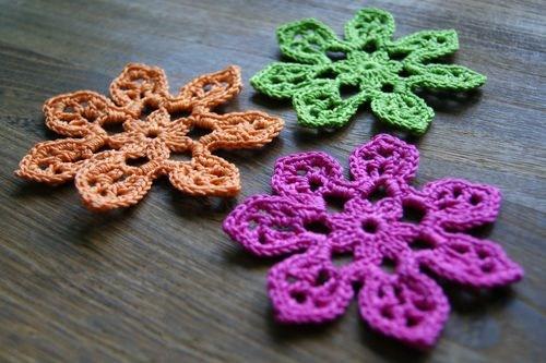 40.free tahiti crochet flower blossom