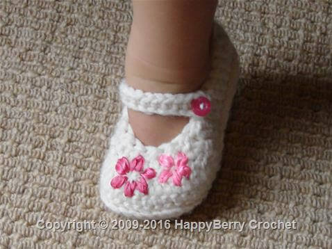 50 free crochet baby booties pattern