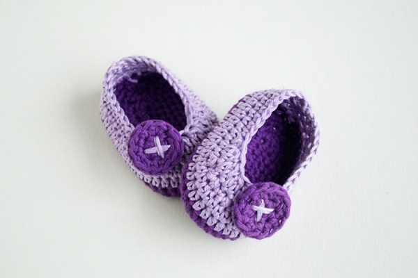 Beginner Crochet Baby Booties Pattern Free : 50 free crochet baby booties pattern