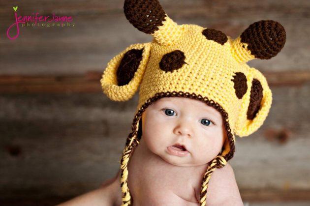 free crochet giraffee hat pattern