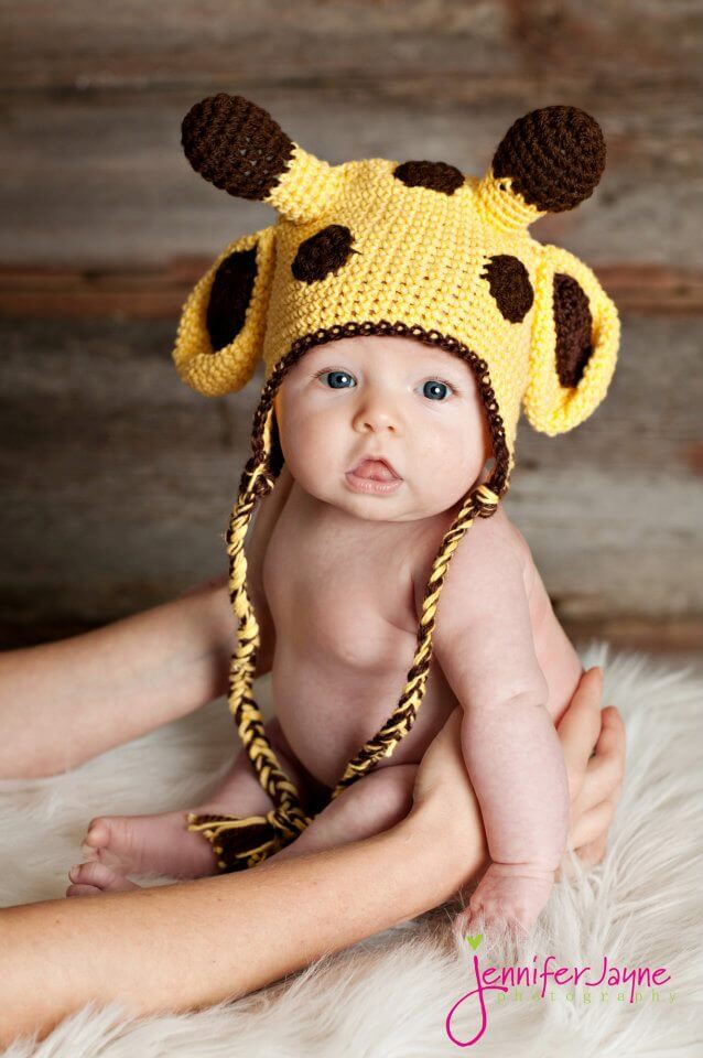 giraffee crochet hat free pattern