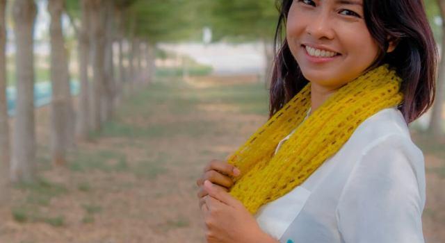 easy mesh lace crochet cowl free pattren
