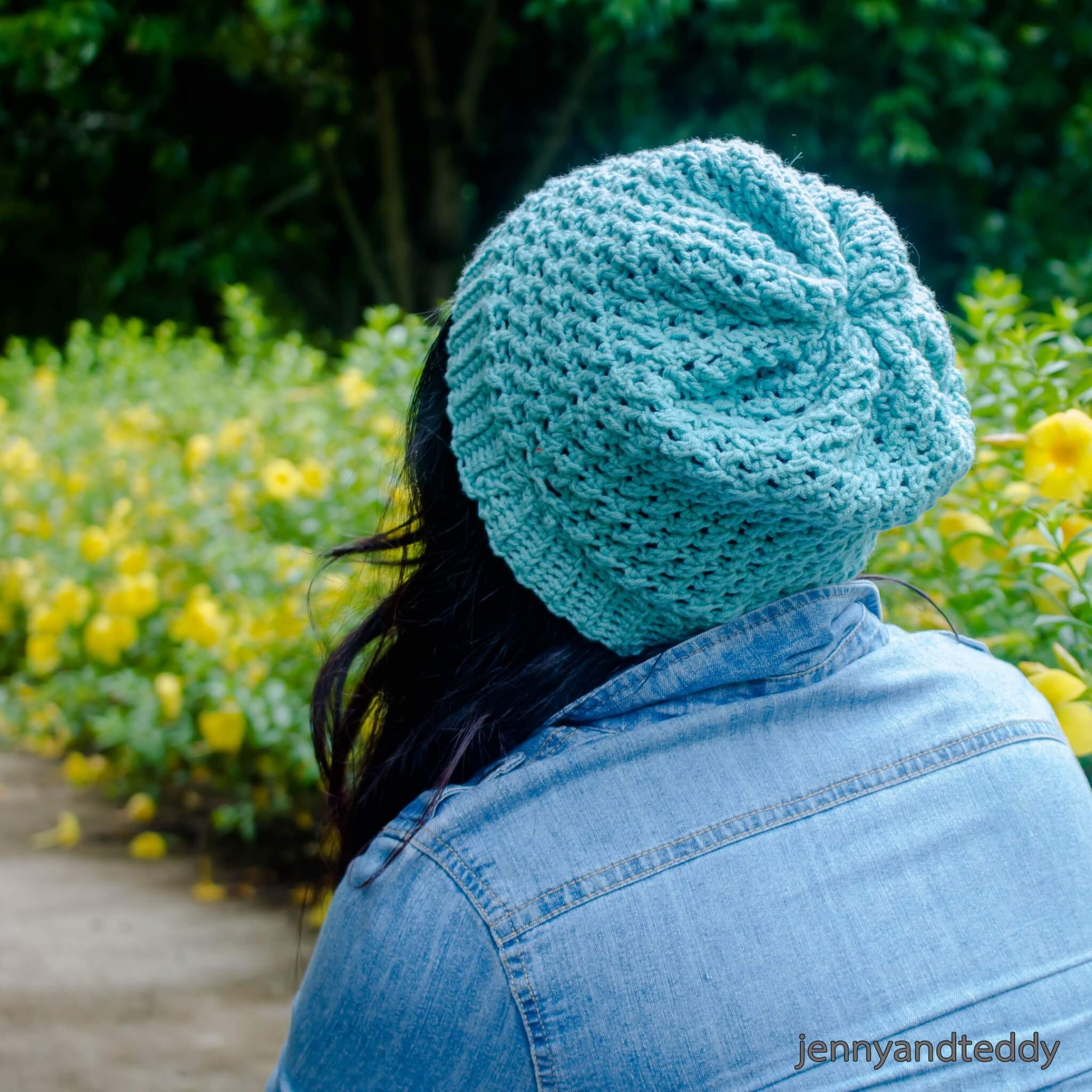 The whimsical beanie free crochet pattern