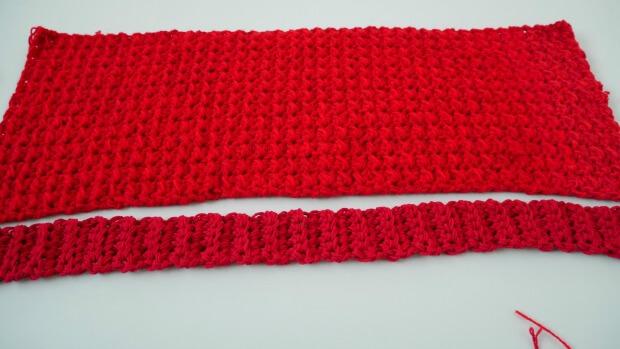 1crochet hood scarf