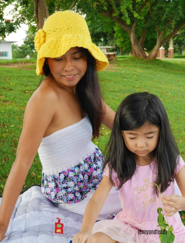 1the secret garden wide brim sun hat tutorial