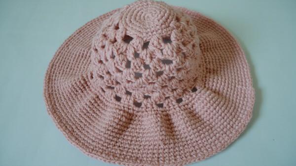 Sea breeze wide brim sun hat free crochet pattern easy wide brim crochet sun hat dt1010fo