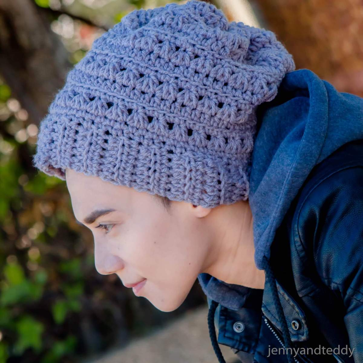 The Newman beanie hat free crochet pattern