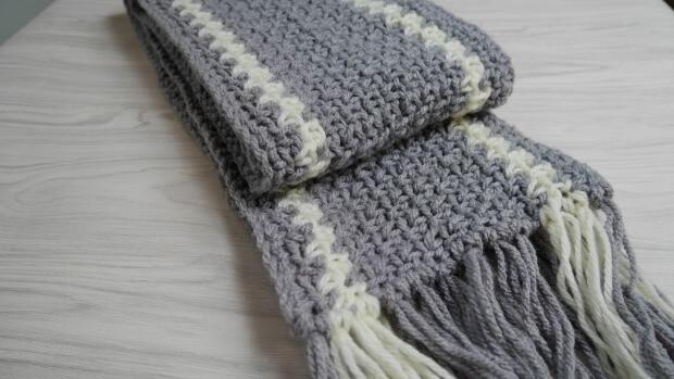 The Norton Men Scarf Free Crochet Pattern