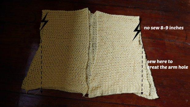 crochet kimono cardigan for beginner