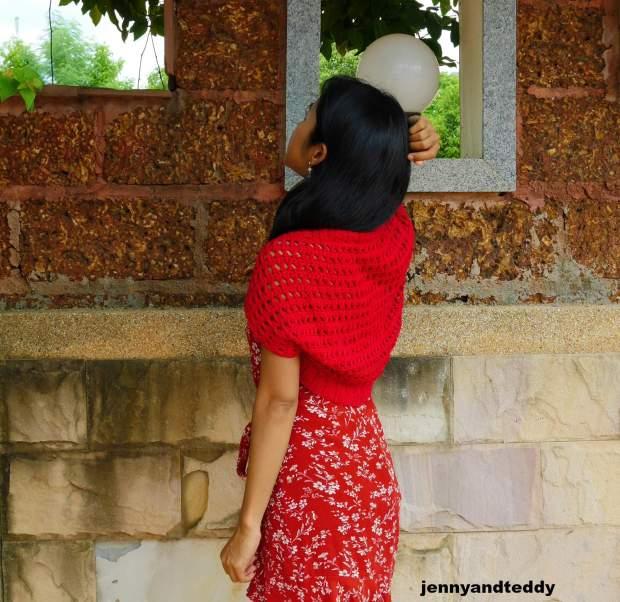 beginner crochet summer bolero free pattern