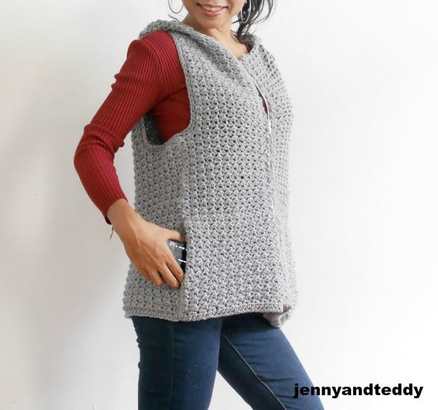 jackets crochet free pattern with zipper