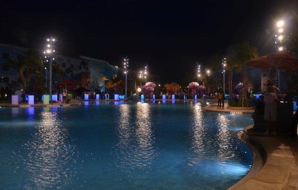 Pool at Disney's Art of Animation Resort