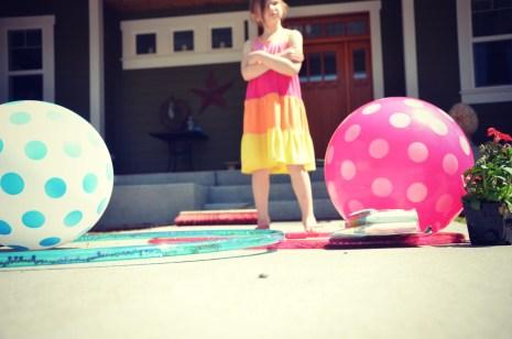 Hula hoop or bouncy ball?