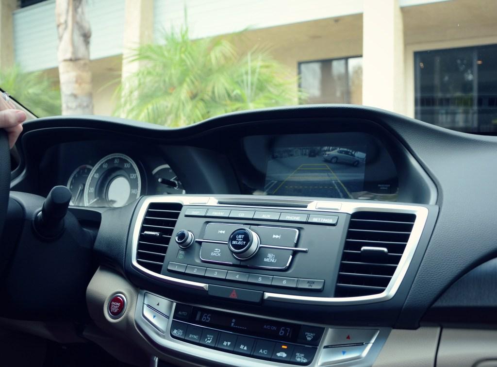 2013 Accord Sedan dashboard