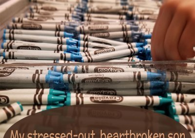 Dear Kindergarten: My Stressed-Out, Heartbroken Child Survived You.