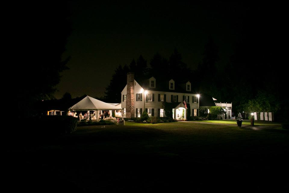 Gig Harbor Wedding at Family Home