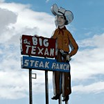 The Big Texan Inn and the Cadillac Ranch