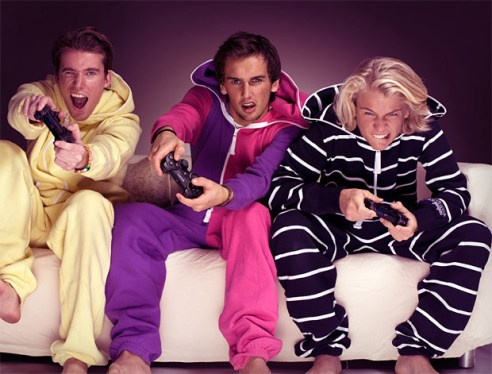 Grown Men in Onesies