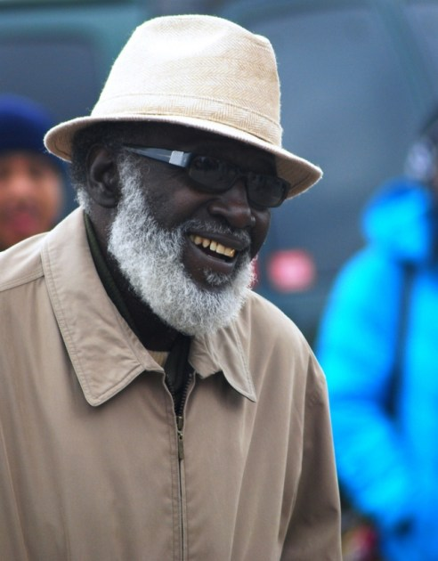 Black Man with White Beard