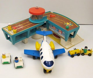 Fisher Price Little People Airplane and Airport