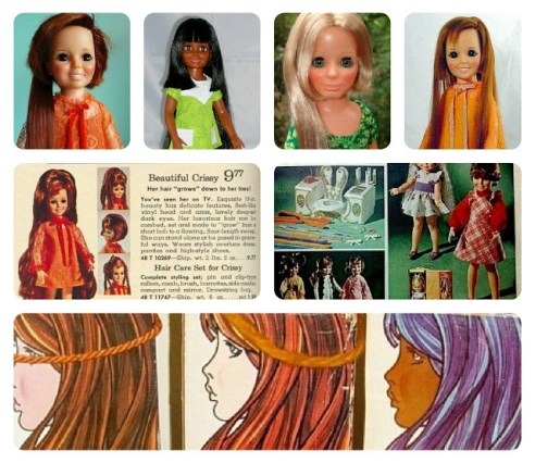 IDEAL'S CRISSY and VELVET DOLLS from the 1970s
