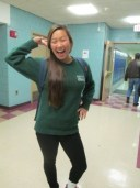 """Gloria Park, 11th grade. """"My parents are trying to live vicariously through me. I'm dealing with a lot of pressure right now."""""""