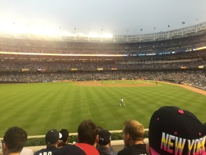 Outfield View